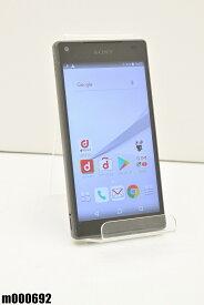 白ロム docomo SONY Xperia Z5 Compact 32GB Android7 グラファイトブラック SO-02H 初期化済 【m000692】 【中古】【K20190510】