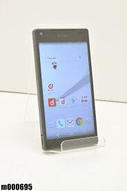 白ロム docomo SONY Xperia Z5 Compact 32GB Android5.1.1 グラファイトブラック SO-02H 初期化済 【m000695】 【中古】【K20190510】