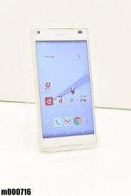 白ロム docomo SONY Xperia Z5 Compact 32GB Android6 ホワイト SO-02H 初期化済 【m000716】 【中古】【K20190510】