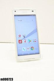白ロム docomo SONY Xperia Z5 Compact 32GB Android7 ホワイト SO-02H 初期化済 【m000723】 【中古】【K20190510】
