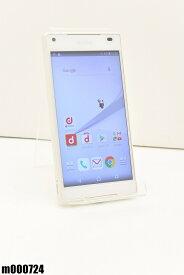 白ロム docomo SONY Xperia Z5 Compact 32GB Android7 ホワイト SO-02H 初期化済 【m000724】 【中古】【K20190510】