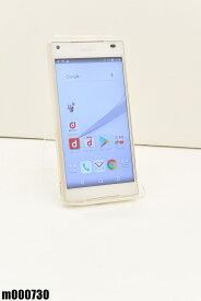 白ロム docomo SONY Xperia Z5 Compact 32GB Android7 ホワイト SO-02H 初期化済 【m000730】 【中古】【K20190510】