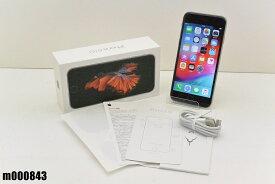 SIMフリー Apple iPhone 6s 32GB iOS12.1.3 Space Gray MN0W2J/A 初期化済 【m000843】 【中古】【K20190405】