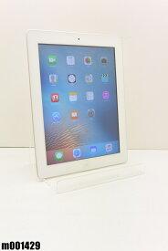 Wi-Fiモデル Apple iPad3 16GB iOS9.3.5 ホワイト MD328J/A 初期化済 【m001429】 【中古】【K20190606】