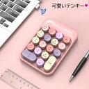テンキー ワイヤレステンキー かわいい テンキー タイプライター ワイヤレスで持ち運びに便利!「NumLock」キーが…