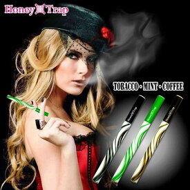 使い捨て 電子タバコ ハニートラップ Honey Trap ハニトラ 3種類 フレーバー おしゃれ ニコチン・タールゼロ VAPE ベープ 使い捨て電子たばこ