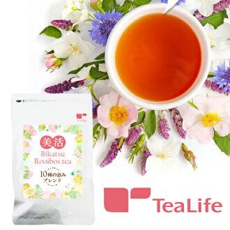 4 g of blessing blend tea bags of ten kinds of 美活 rooibos tea *30 case