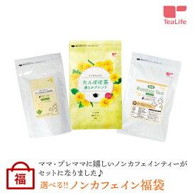 ノンカフェイン福袋 健康茶 ルイボスティー たんぽぽ茶 ティーライフ 福袋 ノンカフェイン お茶 タンポポ茶 たんぽぽ マタニティー ルイボス茶 葉酸 diet_D1809