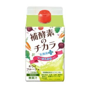 補酵素のチカラ 乳酸菌プラス500ml ダイエット ダイエット飲料 DIET 酵素 乳酸菌 クエン酸 ビタミンC B6 ファスティング ティーライフ