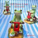 【カエル/コポー/copeau】三輪車に乗るカエル