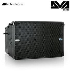 3-Wayアクティブライン アレイモジュール RDNet対応dBTechnologiesDVA T12(ブラック)(国内正規品)