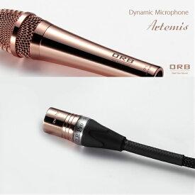 ピンクゴールドの輝きが特徴Human Beatbox用マイクロフォンケーブルORB MCBL-HB ART 0.7M