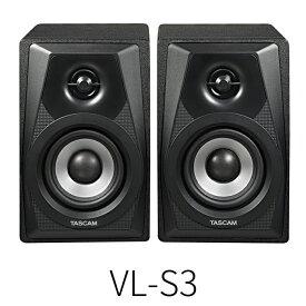 【訳あり】TASCAM VL-S3(ブラック)1ペア