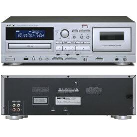 アナログ カセットデッキ(録音/再生)/CDプレーヤー(再生)TEAC AD-850(シルバー)リモコン付属