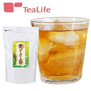 麦 プーアール茶 ポット用 ティーバッグ 30個入麦茶 プーアル茶 プアール茶 水出し ティーバッグ ティーライフ