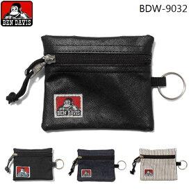 BEN DAVIS パスケース コインケース ベンデイビス 定期入れ 小銭入れ 財布 ミニ財布 キーリング メンズ レディース 子供 BDW-9032