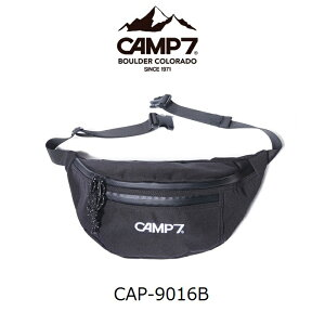 CAMP7 キャンプ7 ウエストバッグ ポリエステル レディース メンズ ウエストポーチ 斜めがけバッグ カジュアル おしゃれ タウンユース CAP-9016B