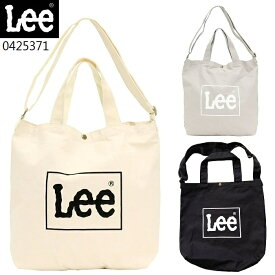 Lee 2WAY トートバッグ ショルダーバッグ キャンバス メンズ レディース 『大きなサイズ』 0425371