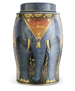 英国 Williamson Tea (ウィリアムソン・ティー) エレファントグレイ(アールグレイ) 象缶 【並行輸入品】
