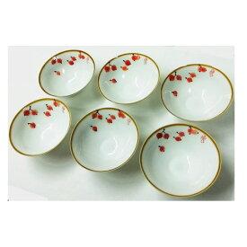 中国茶器セット6個入り(さくらんぼ柄)