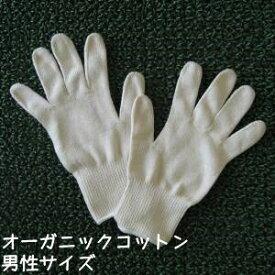 オーガニックコットン手袋[男性]日本製【今治タオルの糸】ポイント2倍