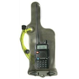 【全国送料無料】 アクアパック 防水ケース 208 無線機用ケース(Mini) VHF Radio Caseトランシーバー用 aquapac | 防水 無線機 ケース マリンスポーツ 川 海 湖 沢 滝 ウォーキング 自転車 水際 おすすめ 売れ筋 完全防水 IPX8 防水性能 ストラップ