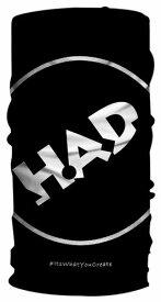 【全国送料無料】HAD Pro   H.A.D Originals ネックウォーマー アーバン ブラック ヘッドウェア ハッド ネックウェア バンダナ キャップ ヘッドバンド ネッカチーフ ヘアバンド フェイスガード フェイスマスク キャップ シュシュ リストバンド ギフト
