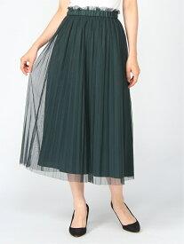 [Rakuten Fashion]Techichi/マルチwayフレアスカート Te chichi テチチ スカート ロングスカート グリーン グレー ブラック ベージュ【送料無料】