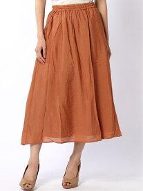 [Rakuten Fashion]Lugnoncure/ヴィンテージサテンスカート Lugnoncure テチチ スカート ロングスカート オレンジ グレー ブラック ブルー