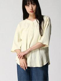 [Rakuten Fashion]Lugnoncure/ピグメントワッフル2WAYプルオーバー 5S Lugnoncure テチチ カットソー カットソーその他 ホワイト グレー ピンク ベージュ