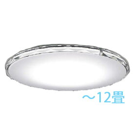 シーリングライト KOIZUMI 〜12畳 調光・調色 ティンリー Twinly Fit調色シーリング優雅な輝きを放つ、多面カットを施した重厚感のアクリル枠が印象的です。