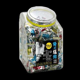 俺の塩飴 OS1B ボトル入り 1kg(約200粒) 《NH-28》『即効塩分チャージ』10フレーバー クエン酸入り