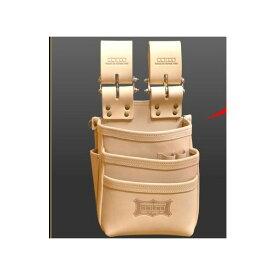 ニックス(knicks) [KNS-301DDX] 自在型チェーンタイプ 総ヌメ革 3段腰袋