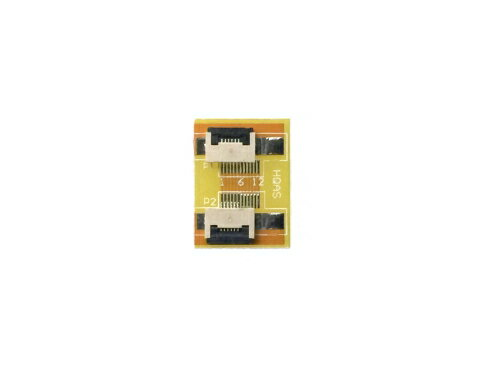 FPC/FFC (6ピン) フラットケーブル 延長基盤 0.5mmピッチ フラットケーブルの延長用に