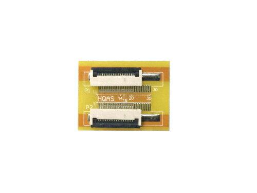 FPC/FFC (20ピン) フラットケーブル 延長基盤 0.5mmピッチ フラットケーブルの延長用に