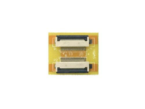 FPC/FFC (22ピン) フラットケーブル 延長基盤 0.5mmピッチ フラットケーブルの延長用に