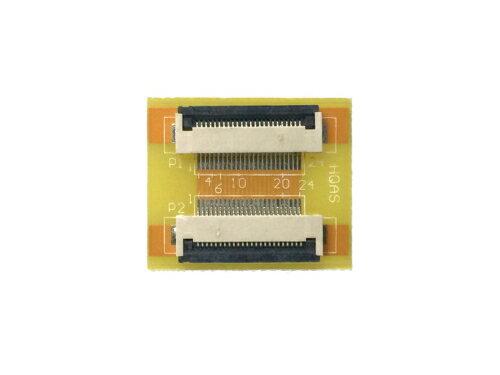 FPC/FFC (24ピン) フラットケーブル 延長基盤 0.5mmピッチ フラットケーブルの延長用に
