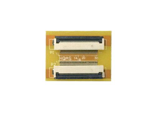 FPC/FFC (30ピン) フラットケーブル 延長基盤 0.5mmピッチ フラットケーブルの延長用に