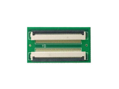 FPC/FFC (50ピン) フラットケーブル 延長基盤 0.5mmピッチ フラットケーブルの延長用に
