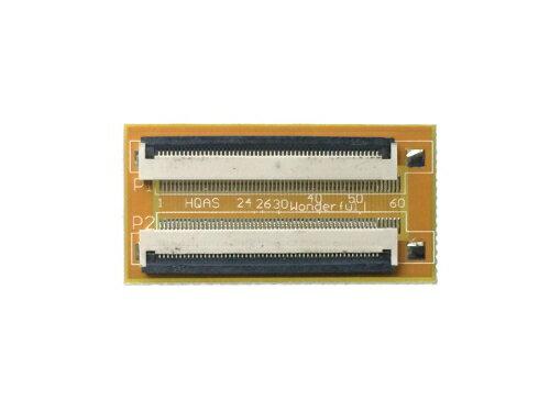 FPC/FFC (54ピン) フラットケーブル 延長基盤 0.5mmピッチ フラットケーブルの延長用に