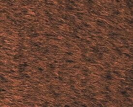 ストレートモヘア ブラウン 1/4ヤード(約70cm×45.5cm)