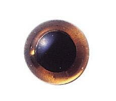 イングリッシュグラスアイ スモークトパーズ(2個入) 約14mm