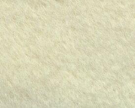 アルパカナチュラル オフホワイト(毛足約17mm) 1/8メートル(約35cm×50cm)