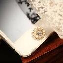 デコ パール ホームボタンiPhone6 plus ipad mini3 air2 iphone シール iPhone5 iPhone4 iphone4s ホー...