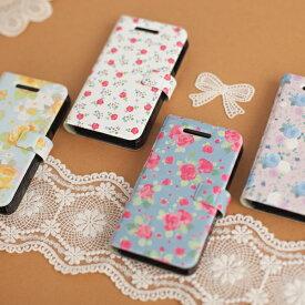 iPhone6s iPhone6 Plus iPhone SE iPhone5 iPhone5s 手帳型ケース アイフォン6sプラス アイフォン6 アイホン6s アイフォン SE アイフォン5s GalaxyS4 スマホカバー 花柄 レザー ブランド iPhoneケース