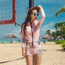 ラッシュガード レディース 長袖 UPF50+ ショートパンツ 2点セット 韓国ブランド ファッション SHEBEACH シービーチ …