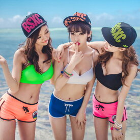 水着 ブラトップ ビキニ 上 単品 レディース 韓国 ファッション SHEBEACH シービーチ 正規品 海外 シンプル ノンワイヤー スポーティー かわいい セクシー キュート おしゃれ 大人 女性用 夏 海 ビーチ プール ヨガ ブラック黒 ホワイト ピンク ブルー グリーン 水着