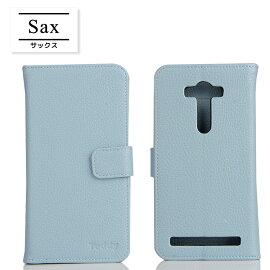 【メール便送料無料】ZenFone2LaserZE500KLZenFone2LaserZE550KL手帳型ケースゼンフォン2レーザースマートフォンスマホカバーカードポケットスタンド機能シンプル大人ダイアリー型無地