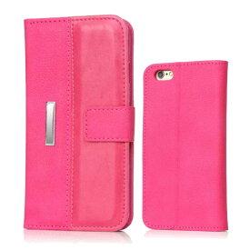 【訳あり】【アウトレット】iPhone6 iPhone6s Plus ケース 手帳型 アイフォン6プラス アイフォン6sプラス スマホカバー レザー カードポケット付き iPhoneケース