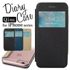 iPhone8 ケース iPhone8 Plus iPhone7 Plus iPhone6s iPhone6 Plus 手帳型 アイフォン8 アイフォン7 アイフォン7プラス アイフォン6s アイホン7 スマホカバー シンプル 大人 窓付き お洒落 ダイアリー 耐衝撃 合皮 レザー 背面クリア 透明 大人女子 iPhoneケース